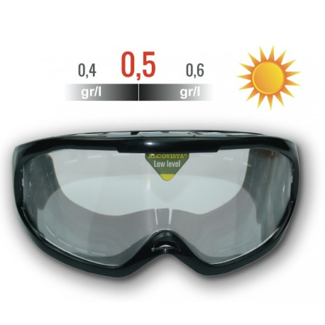 Occhiali da Simulazione alcolemia, visione GIORNO, tasa 0,4 ° - 0,6°