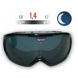 Nº 4 - Occhiali da Simulación alcol, visione NOTTE, tasso 1,0 ° - 1,7°