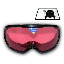 Gafas de Somnolencia al volante al atardecer