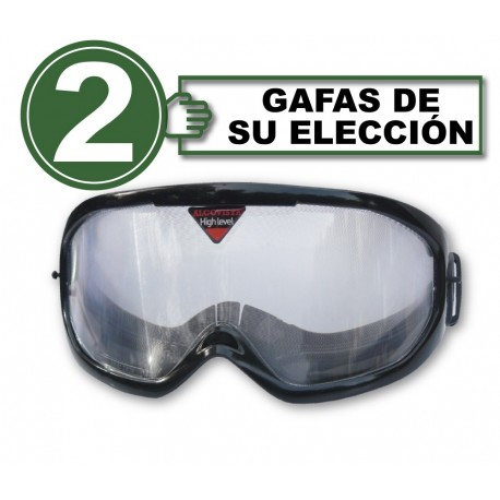 Pack  with 2 alcohol simulation goggles