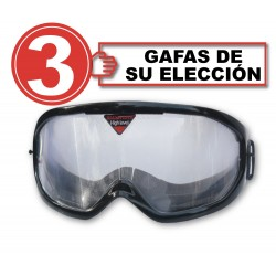 Pack with 3 impairment goggles + Alcosimulator