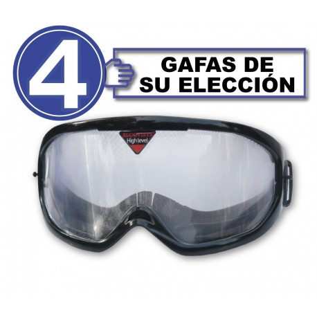 Pack de 4 gafas