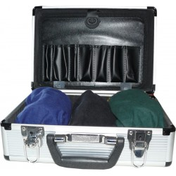 Case with 3 impairment goggles