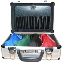 Case with 4 impairment goggles
