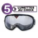 Pack de 5 gafas de simulación