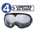 Pack de 4 gafas de simulación