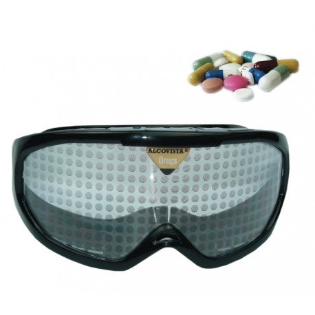 Drugs impairment goggles