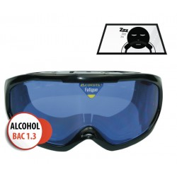 "Drowsy Driving Goggle ""with .13 BAC effect influence"""