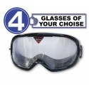 Alcovista 4-Pack of Goggle - any 4 goggles of choise