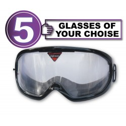 Pack of 5 impairment Goggles - any 5 goggles of choise