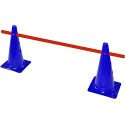 barrier ( bar + 2 cones) 4 position-26 cm high