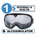 Pack with 1 impairment goggles+Alcosimulator-BAC curve