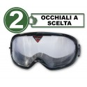 Pack with 2 impairment goggles